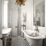 Eye Catching Luxurious Black White Bathroom Ideas