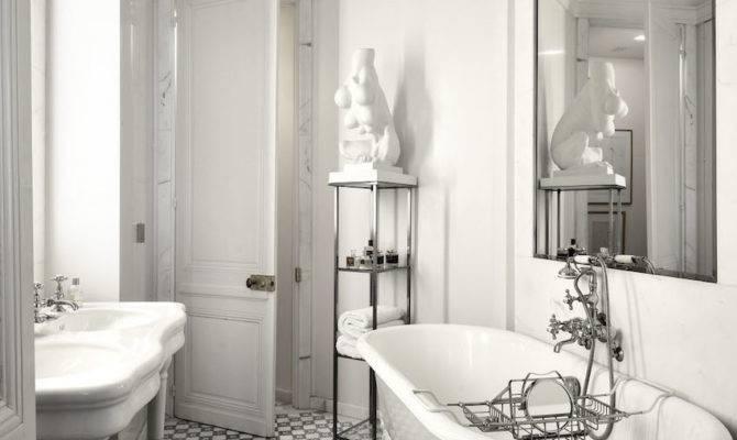 Eye Catching Luxurious Black White Bathroom Ideas