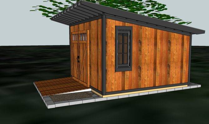 Fabitecture Modern Shed Design Finishing Room