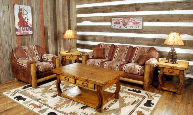 Fabric Upholstery Country Home Furniture Ranch Style Decorating Ideas