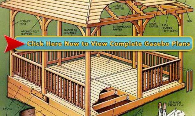 Fabulous Cheap Wooden Gazebo Kits Garden Landscape