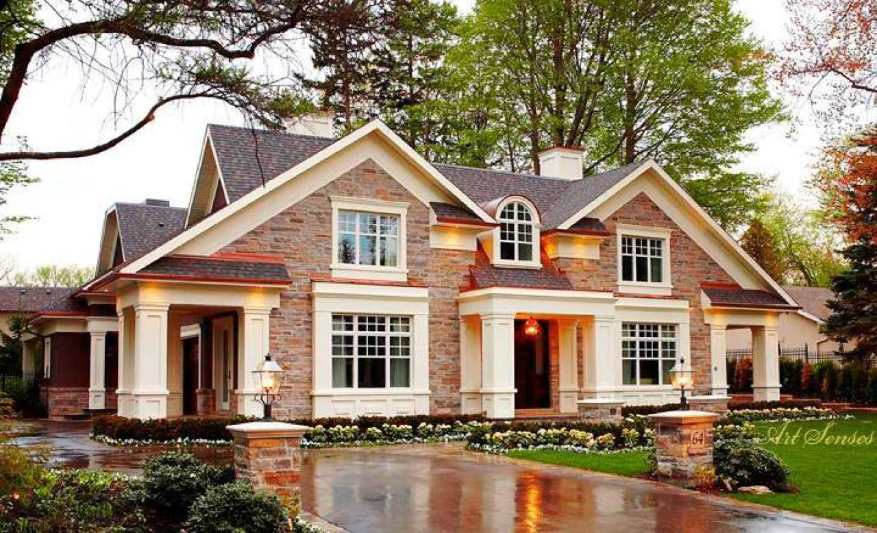 Fabulous Country Homes Exterior Design Home