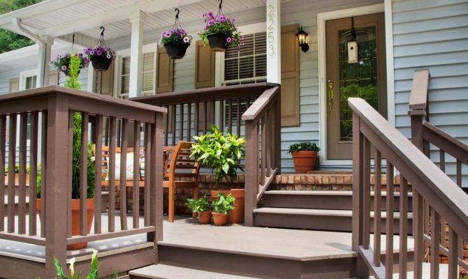 Fabulous Front Yard Decks Patios Outdoor Spaces