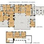 Fabulous Hacienda Style Floor Plans Interior Design Home