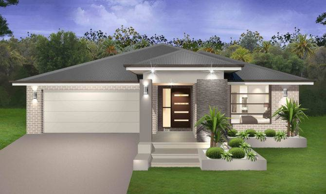 Facades Homes Single Story House Designs Trend Home