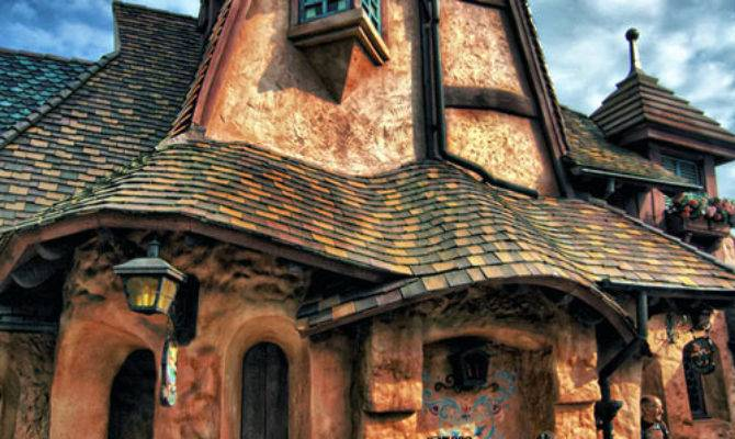 Fairy Tale Houses Real World Damn Cool