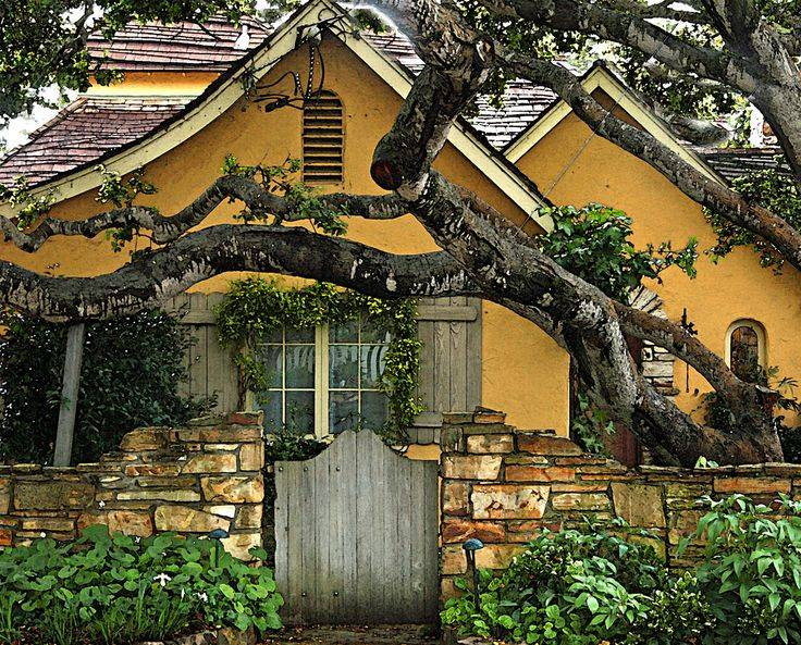 Fairytale Cottage Carmel Sea Pinterest