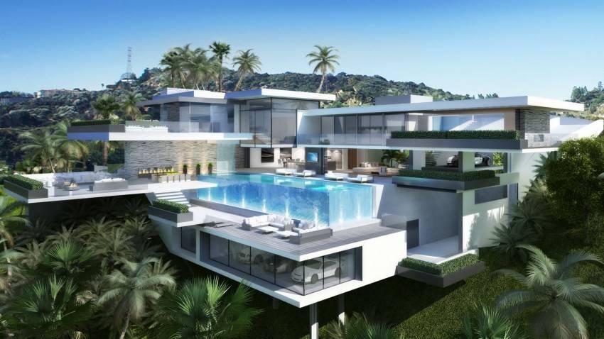 Famous Interior Design Modern Mansions Sunset Plaza Pro Read