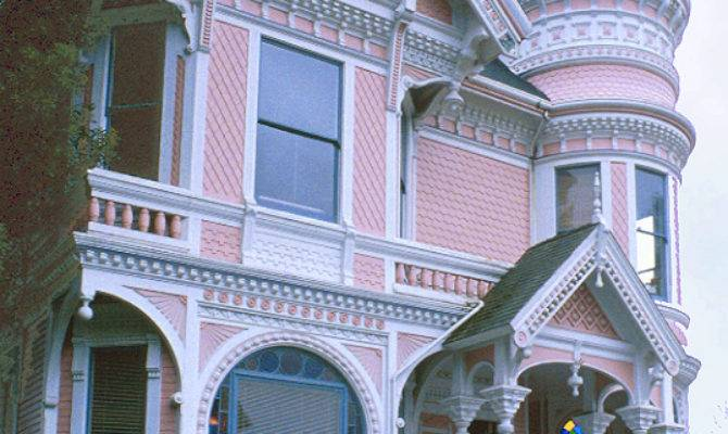Fanciful Victorian Home Eastlake Details
