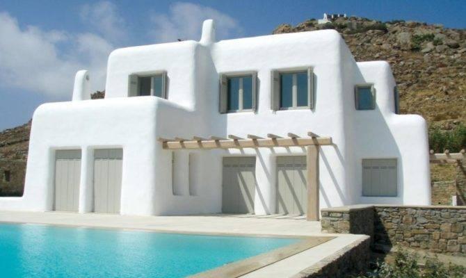 Fancy Greek Mediterranean Style Homes