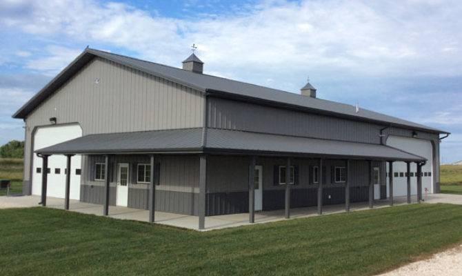 Fantastic Metal Building Storage Home Living Quarters