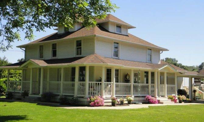 Farmhouse Floor Plans Wrap Around Porch Handsome Three
