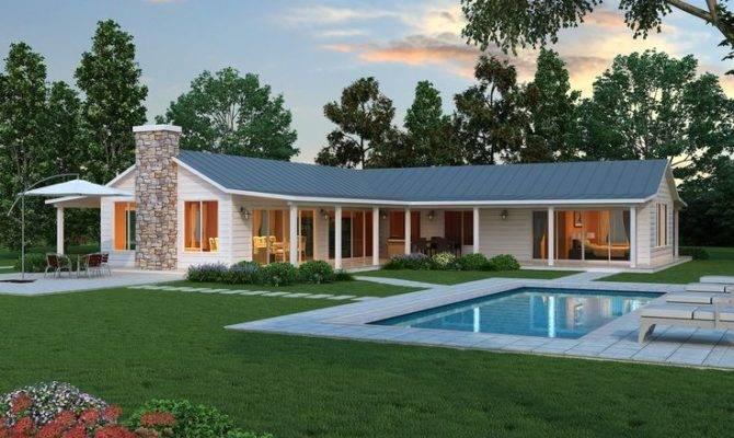 Farmhouse Floors Plans Ranch House Style Dreams
