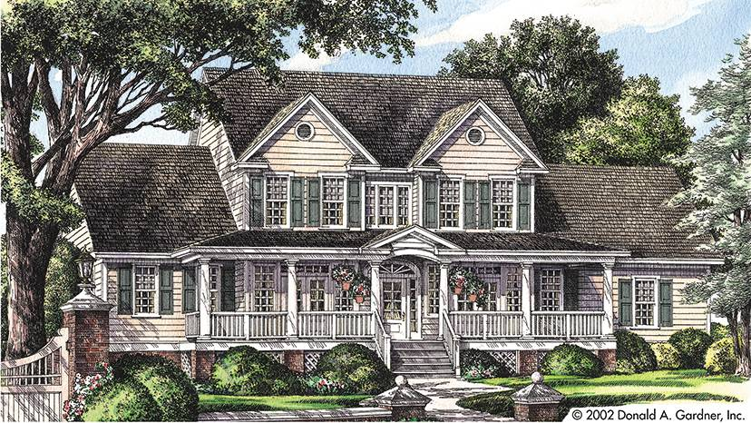 Farmhouse House Plans Designs Builderhouseplans