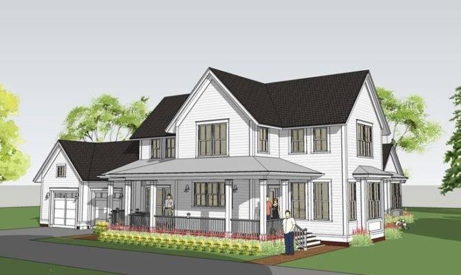 Farmhouse House Plans Pinterest Modern