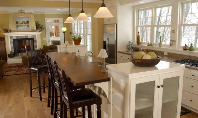 Farmhouse Kitchen Open Floor Plan