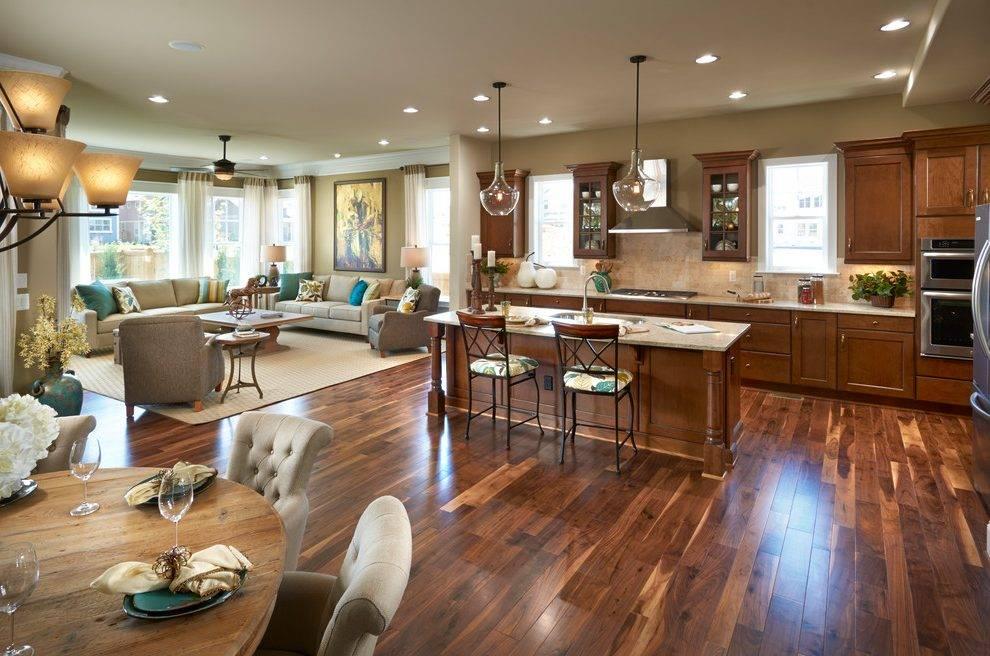 Farmhouse Open Concept Kitchen Designs Room