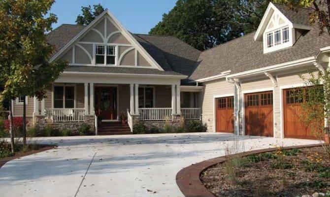 Farmhouse Plans Craftsman Home