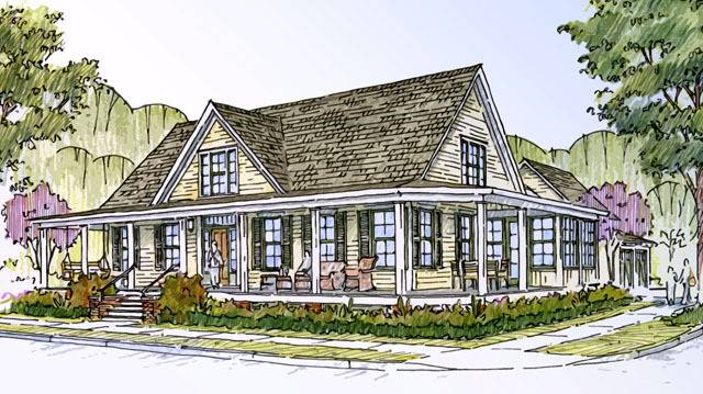 Farmhouse Revival Southern Living House Plans