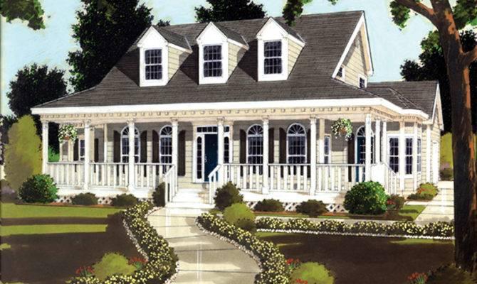 Farson Southern Plantation Home Plan House
