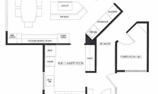 Favorite Kitchens Islands Floor Plans Photos