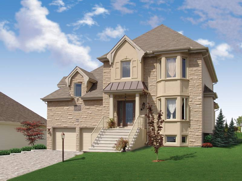 Faxon Manor European Home Plan House Plans