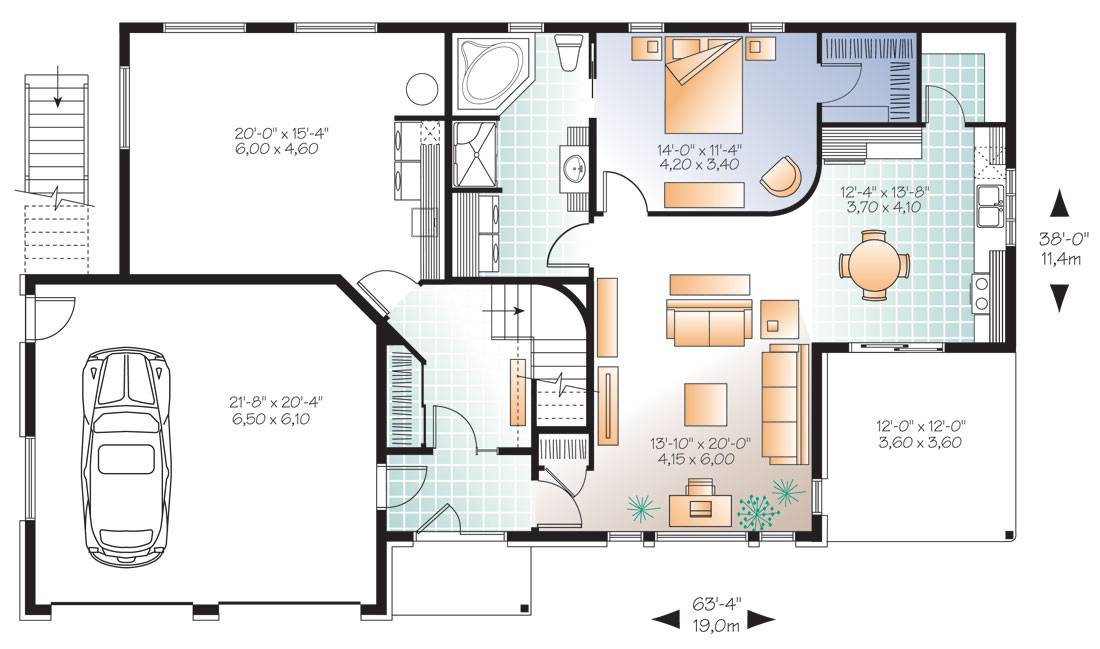 Featured House Plan Pbh Professional Builder Plans