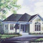 Feet Bedroom Bathroom Country Cottage House Plans Home