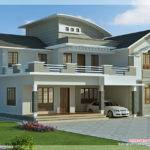 Feet Bedroom Villa Design Kerala Home Floor Plans