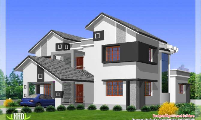 Feet Diffrent Type House Designs Kerala Home