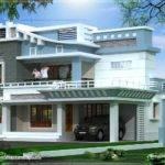Feet Exterior Home Elevation Kerala Design Floor Plans