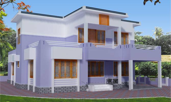 Feet Flat Roof House Design Kerala Home