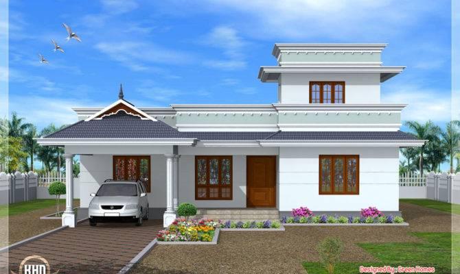 Feet Kerala Model One Floor House Home