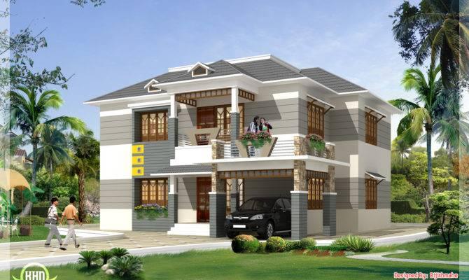 Feet Kerala Style Home Plan Elevation Design