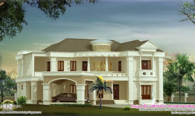 Feet Luxury Villa House Design Plans