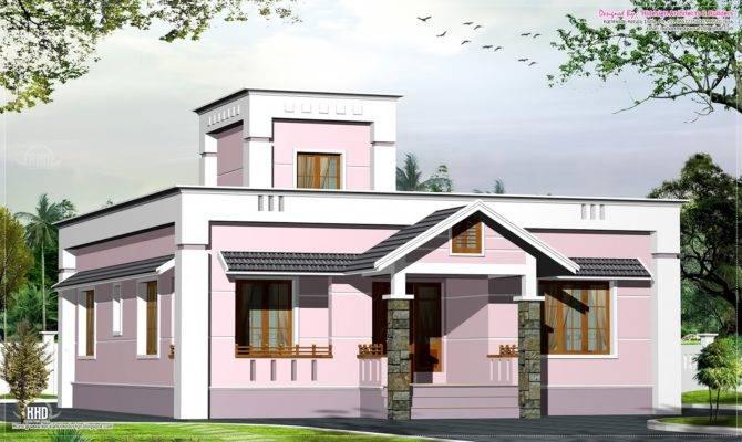 Feet Small Budget Villa Plan Kerala Home Design