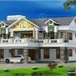 Feet Super Luxury Home Design Kerala