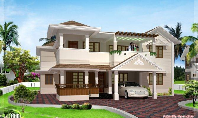 Feet Two Floor House Design
