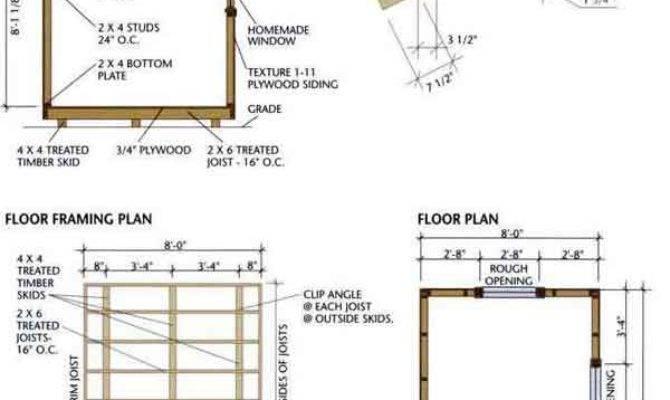 Fernando Pent Shed Plans Gable Roof Addition Details