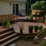 Fiberon Two Level Deck Custom Decks Fairfield County