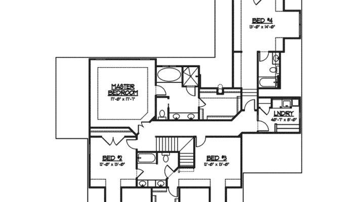 Fieldstone Traditional Home Plan House Plans