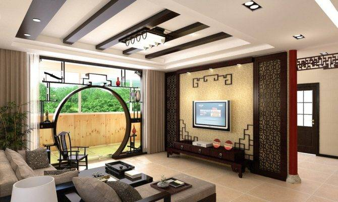 Fine Woodworking Chinese Living Room House