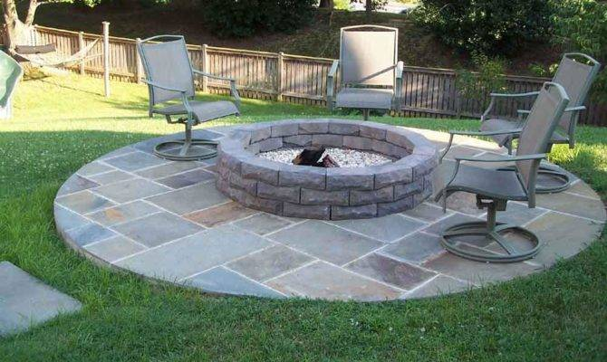 Fire Pit Plans Stone Design Ideas