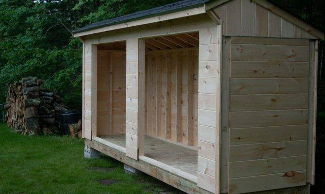 Firewood Storage Shed Keep Organize Your