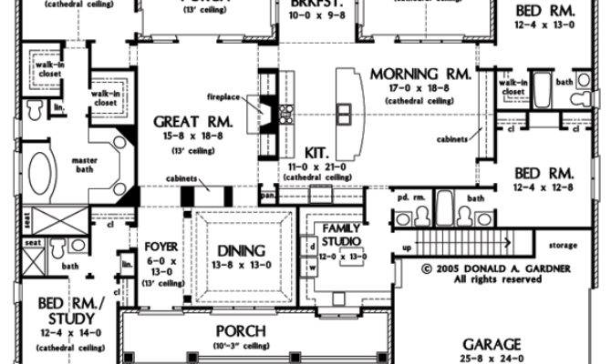 First Floor Plan Clarkson House Number