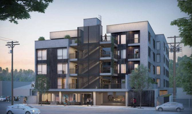 First Look Story Apartment Building Planned