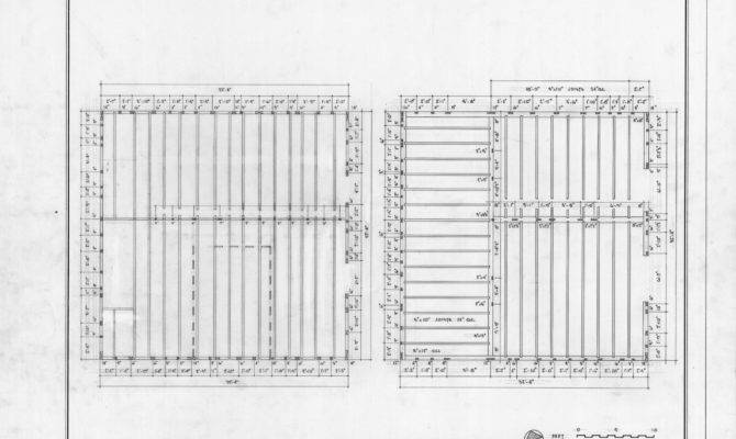 First Second Floor Framing Plans Mount Gould Bertie County