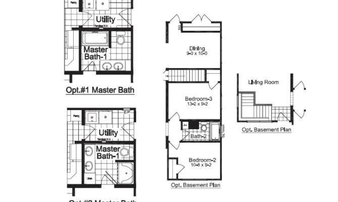 Fitzgerald City Lots Were Very Narrow Needed Floor Plans