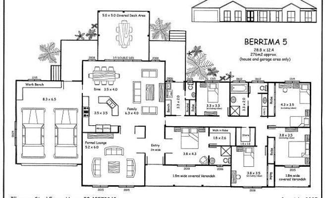 Five Bedroom House Plans
