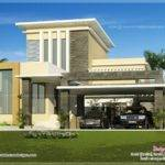 Flat Roof Contemporary Home Kerala Design